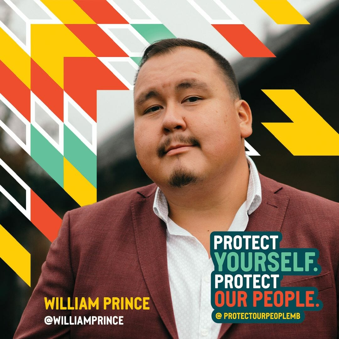 Protect Our People MB Campaign post