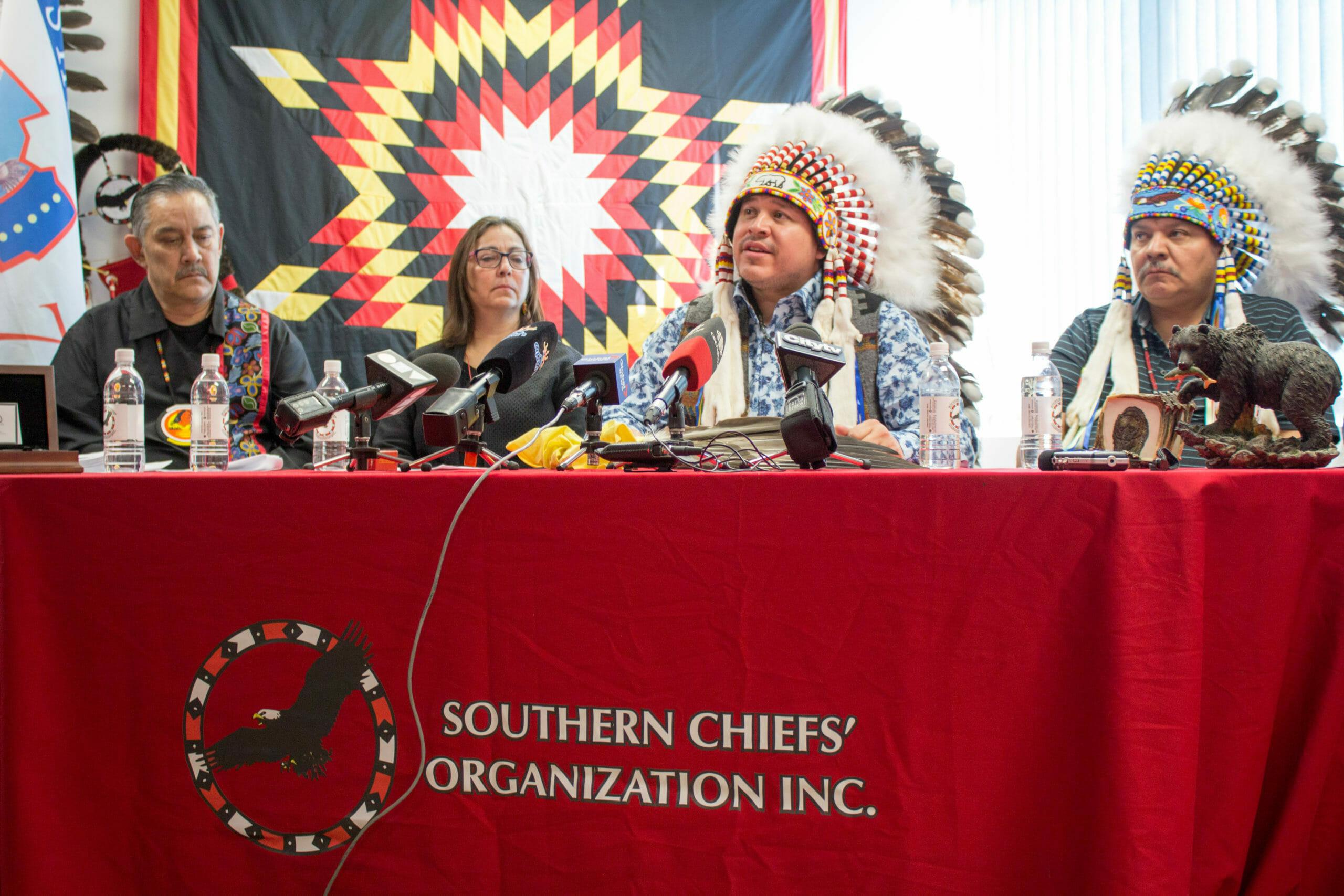 Chief Henderson, Chief Batson, GC Daniels, Chief McLean